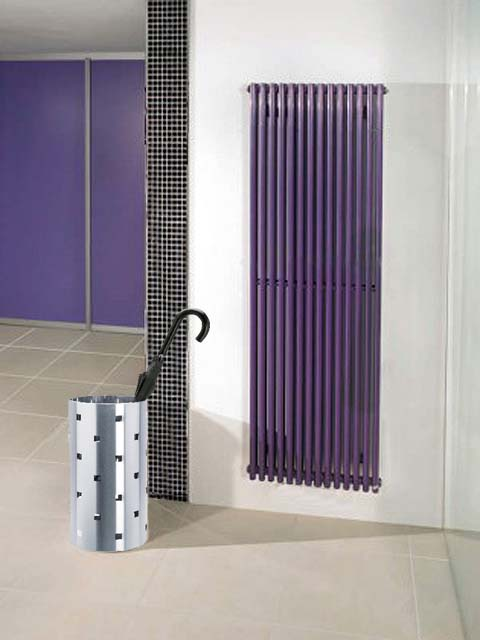 Calorifere inalte, radiator violet, Calorifer sationar, radiator vertical