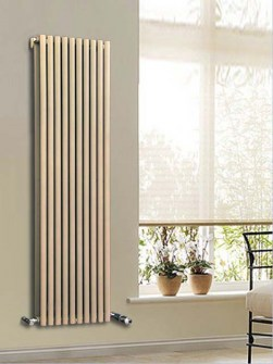 Calorifer vertical, radiator design, Calorifer tip teava